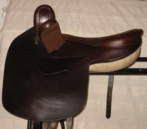 Side saddle by Nicola Watson