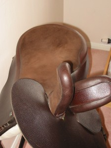 Doeskin seat and heads