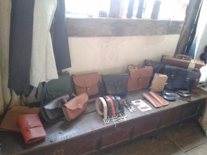 Nicola Watson Leatherwork at Great Dixter